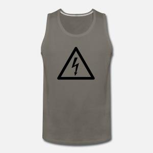 Hazard Symbol High Voltage By Thinkstuffs Spreadshirt
