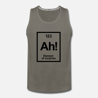 Periodic Table periodic table - Men's Premium Tank Top