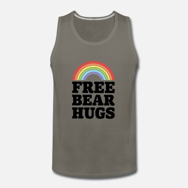 Free Bear Hugs Free Bear Hugs - Men's Premium Tank Top