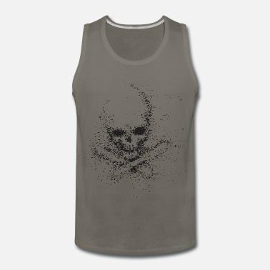 e4c90590f73737 Dot Skull Design Men s T-Shirt