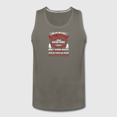 Christian Prayer Shirt - Men's Premium Tank