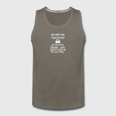 You can't buy happiness, really? - Men's Premium Tank