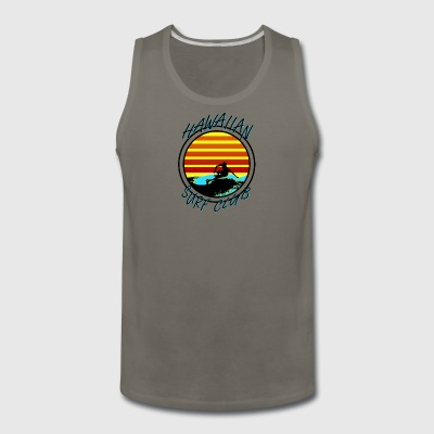 Hawaiian Surf Club - Men's Premium Tank