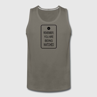 The Watchers - Men's Premium Tank