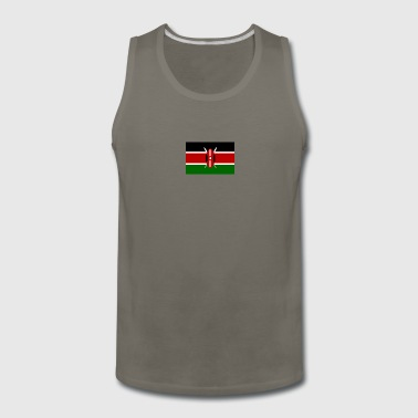 kenyan flag graphic - Men's Premium Tank