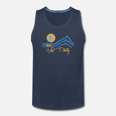 Ski West Philly  - Men's Premium Tank