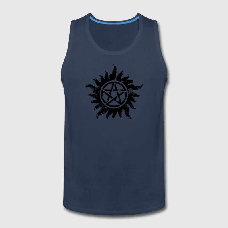 Anti-Possession Symbol Dark (Broken).png - Men's Premium Tank