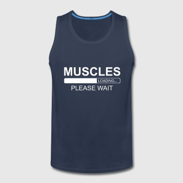 MUSCLES LOADING - Men's Premium Tank