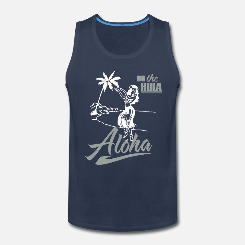 6d44454a Shop Aloha Tank Tops online | Spreadshirt