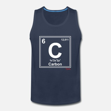Carbon Carbon - Men's Premium Tank Top