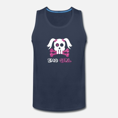 Emo Emo Girl - Men's Premium Tank Top