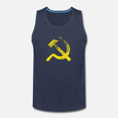 Communist Used Hammer Sickle - Men's Premium Tank