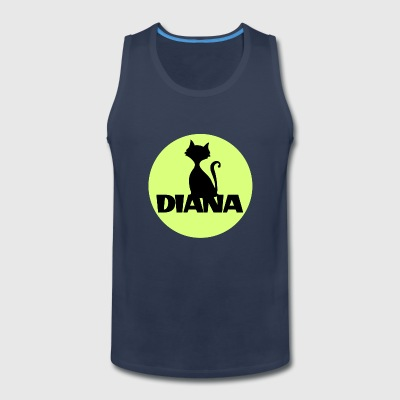 Diana first name - Men's Premium Tank