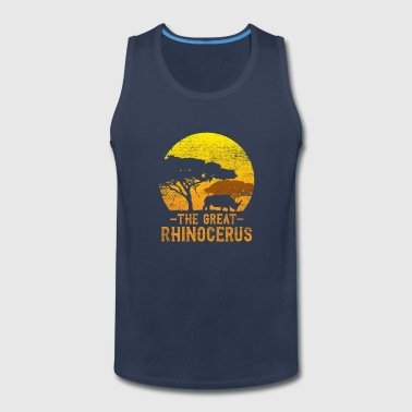 The great rhinocerus - Men's Premium Tank