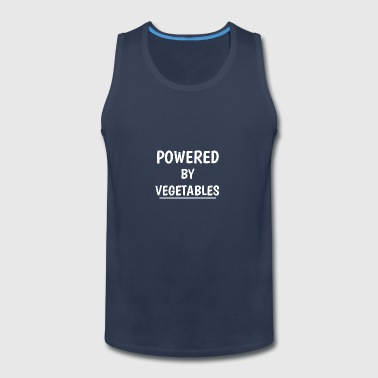 POWERED BY VEGETABLES - Men's Premium Tank