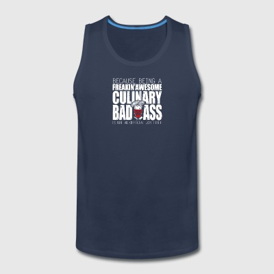 Culinary Badass Chef - Men's Premium Tank