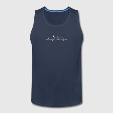water polo heartbeat - Men's Premium Tank