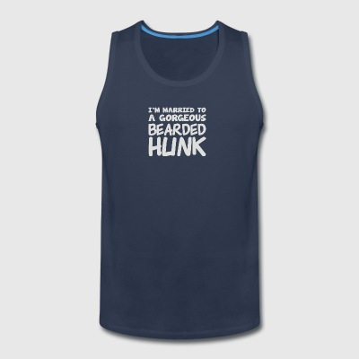Im Married To A Gorgeous Bearded Hunk - Men's Premium Tank