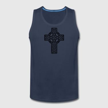 Celtic Cross - Men's Premium Tank