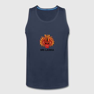 Sri Lanka Mask - Men's Premium Tank