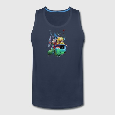 Abstract Duel Reason - Men's Premium Tank