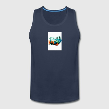 High Like HD - Men's Premium Tank