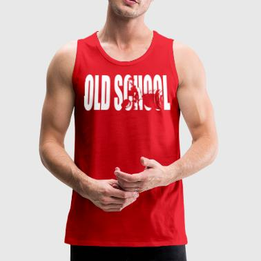 School Old School (Deadlift) - Men's Premium Tank