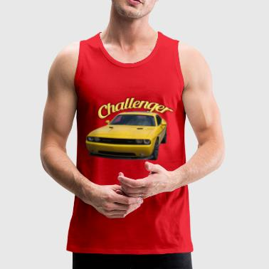 Challenger with Text - Men's Premium Tank