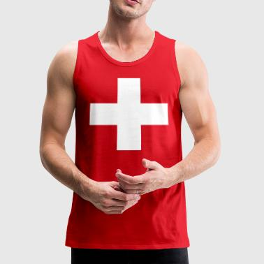 Lifeguard Swiss Cross - Men's Premium Tank