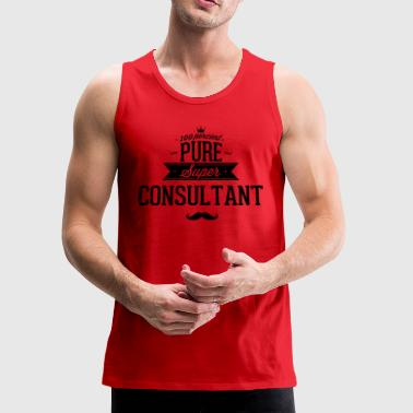 100 percent pure super consultant - Men's Premium Tank