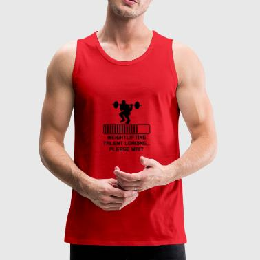 Weightlifting Talent Loading - Men's Premium Tank