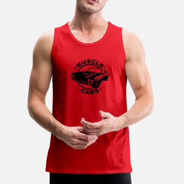 Muscle Car Muscle Car - Men's Premium Tank