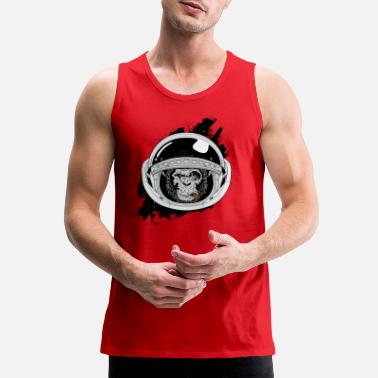 Space Ape in space - Men's Premium Tank Top
