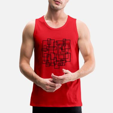 Rectangle rectangled - Men's Premium Tank