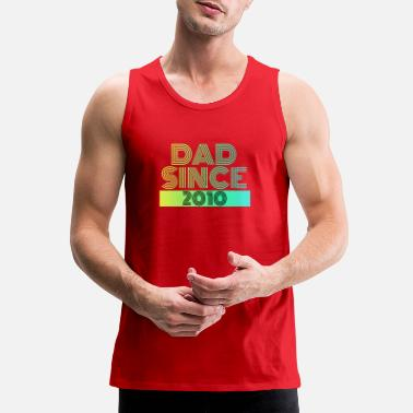 Since Dad since - Men's Premium Tank Top
