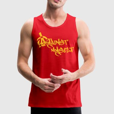 Against myself v2 - Men's Premium Tank