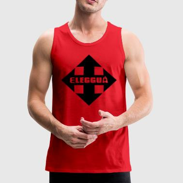 Eleggua Crossroads Black - Men's Premium Tank