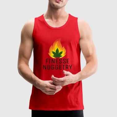 Fire leaf black - Men's Premium Tank