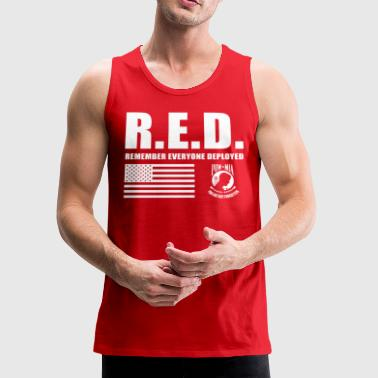 Red Friday Wear Red On Friday - Men's Premium Tank