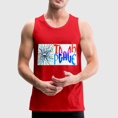 Teach Peace 2 - Men's Premium Tank