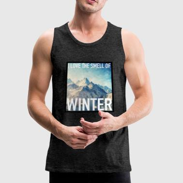 THE SMELL OF WINTER - Men's Premium Tank