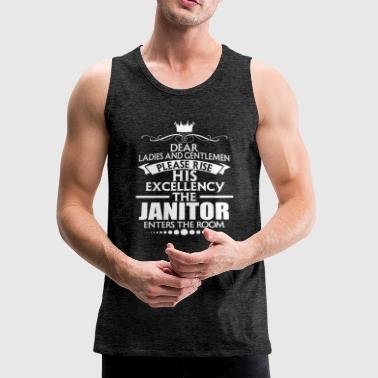 JANITOR - EXCELLENCY - Men's Premium Tank