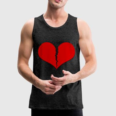 broken heart - Men's Premium Tank