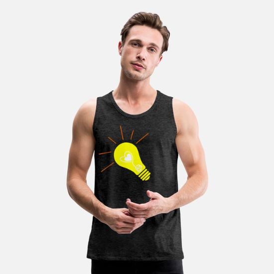 Gift Idea Tank Tops - idea - Men's Premium Tank Top charcoal gray