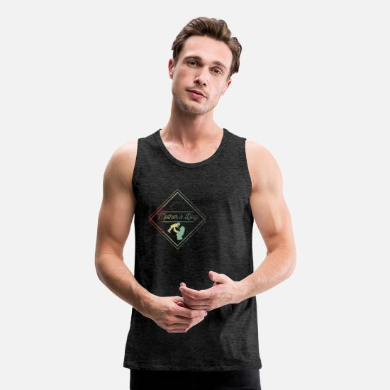 Birthday Tank Tops - mothersday - Men's Premium Tank Top charcoal gray
