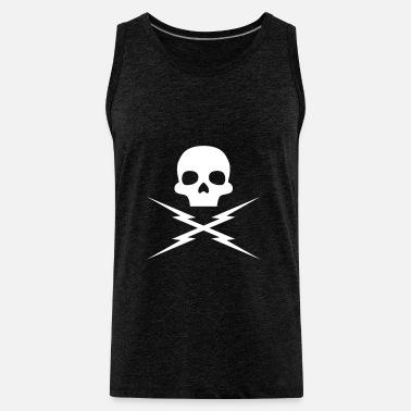 583979fe Death Proof: Stuntman Mike Skull Men's Jersey T-Shirt | Spreadshirt