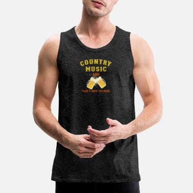 Country Music Country Music - Men's Premium Tank