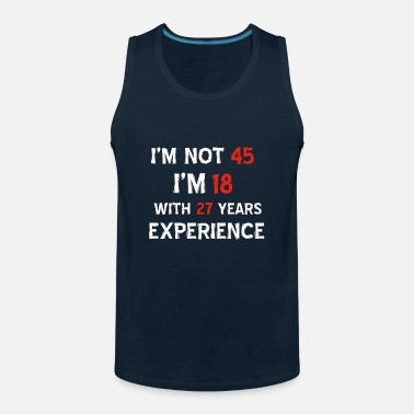 Old 45th year old designs - Men's Premium Tank Top