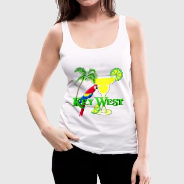 Key West Margarita - Women's Premium Tank Top