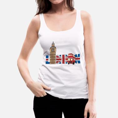 London London - Women's Premium Tank Top